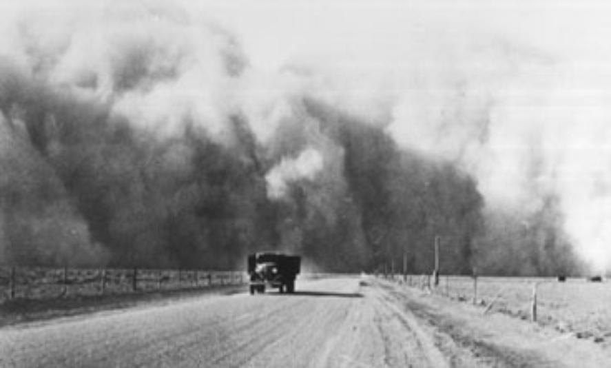 an analysis of the infamous dustbowl of north america in the 1930s Description in the mid 1930s, north america's great plains faced one of the worst man-made environmental disasters in world history donald worster's classic chronicle of the devastating years between 1929 and 1939 tells the story of the dust bowl in ecological as well as human terms.